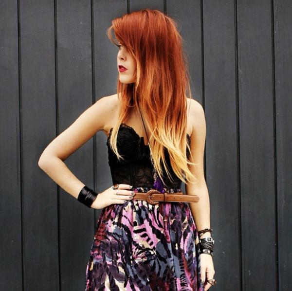skirt purple skirt luanna perez luanna90