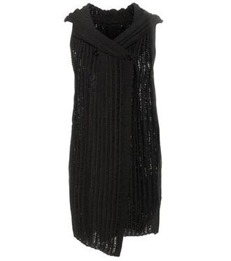 vest cotton black jacket