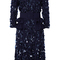 Maritime embroidered peplum dress | moda operandi