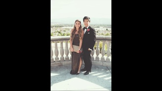 dress prom dress black sequin dress ball gown dress lia marie johnson