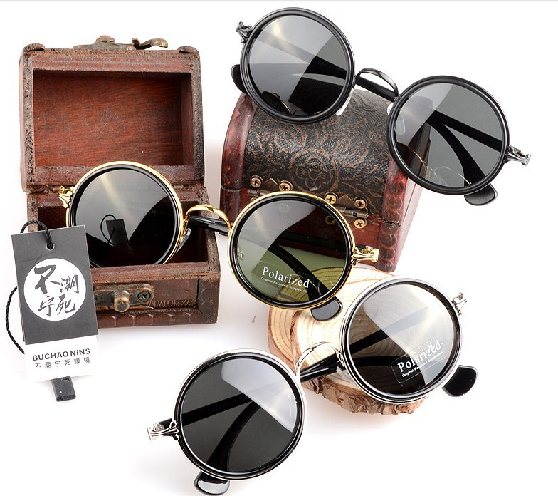 Aliexpress.com : Buy With Box Round Circle Sunglasses Women Vintage Sun glasses Men Oculos Glasses Vintage Sunglass Retro Inspired Club Elegant Metal from Reliable sunglasses 3d suppliers on The Window of the World
