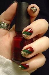 nail polish,holiday nail art,christmas,christmas nail art,holidays nail art,holiday season,nail art,nails