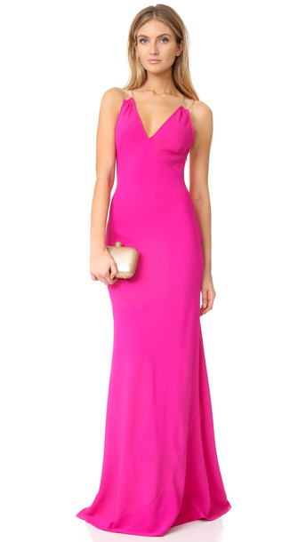 Ramy Brook Chantal Gown - Paradise Pink