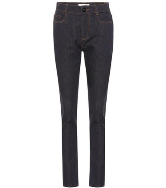 Fendi jeans skinny jeans blue