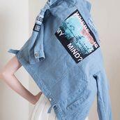 jacket,itgirl shop,36683,kfashion,korean fashion,fashion,tumblr,southkorean,ulzzang,streetstyle,aesthetic,clothes,apparel,kawaii,cute,women,indie,grunge,pastel,kawaiifashion,pale,style,online,kawaiishop,freeshipping,free,shipping,worldwide,palegoth,soft grunge,softgoth,minimalist,inspiration,outfit,itgirlclothing,denim,jeans,denim jacket,where is my mind,jacket printed