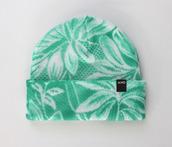hat,unisex,green,beanie