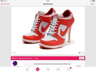 shoes nike heels trainers
