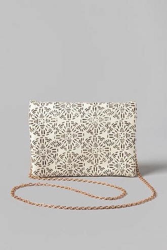 bag printed bag cream bag