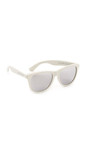 surf sunglasses mirrored sunglasses silver