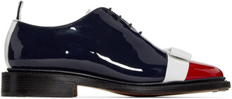 bow oxfords leather shoes