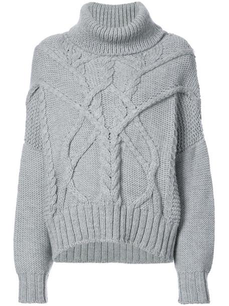 Thom Krom jumper women knit grey sweater