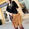 Celebrity style punk fringe tassel shoulder messenger cross body hand bag totes | ebay