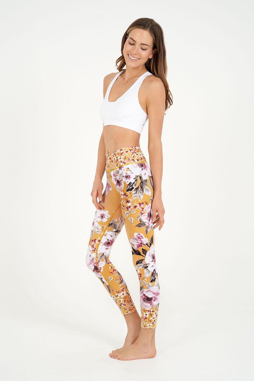 Amber Rose High Waist Printed Legging - 7/8