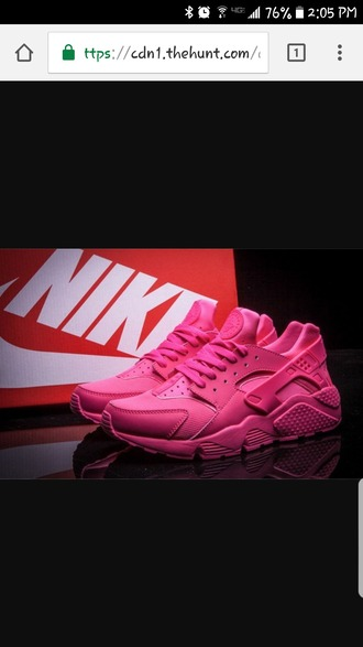 shoes all pink