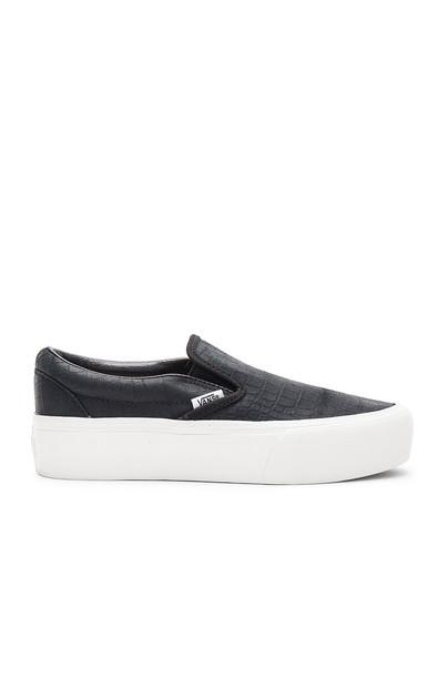 VANS classic black shoes