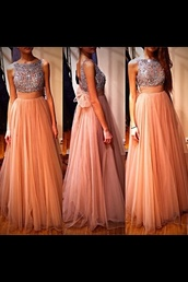 dress,prom dress,clothes,long prom dress,ball gown dress,classy,paris most wanted,pink,evening dress,pretty,glamour,prom,long dress,cute,rose,beautiful,stylish,sexy,coral dress,sparkly dress,babyonlinedress.com,maxi dress,prom.,orange,coral,peace,silver,sparkels,glitter,peach color,pink dress,sparkle,prom gown,peach shirt with embroidered top,shiffon,nude sequins long tulle,formal dress,formal party dresses,formal dresses evening,fashion,formal prom dresses,luxury,peach dress,gold,tulle prom dress,beaded prom dress