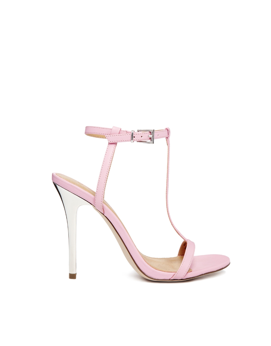 ASOS HAMPSHIRE Heeled Sandals at asos.com