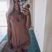 dress,amazing lace,apricot dress,basic dress,spaghetti strap,tan dress,cute tan dress