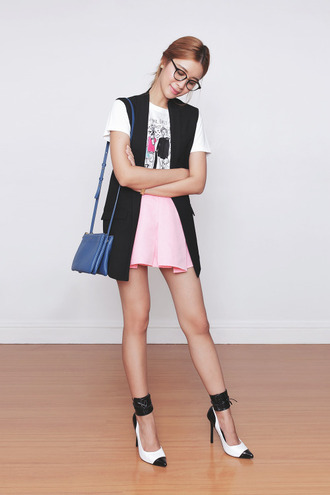 tricia gosingtian blogger top jacket bag shoes