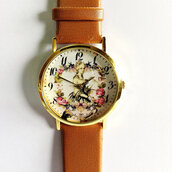 jewels,watch,handmade,style,fashion,vintage,etsy,freeforme,floral,flowers,summer,spring,father's day,fathers day,gift ideas,present,marie-antoinette,marie antoinette