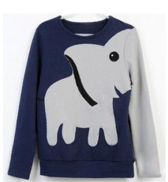 sweater elephant clothes hipster