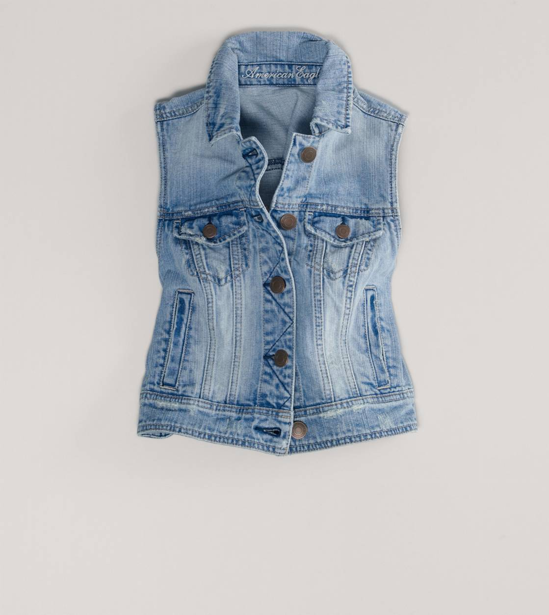 AE Denim Vest | American Eagle Outfitters