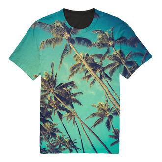 t-shirt palm tree print travelling