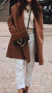 bag,brown bag,crossbody bag,chain,two colour