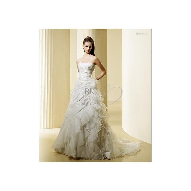 dress marine fantasia printed midi skirt wedding dress high-low dresses elegant charming design