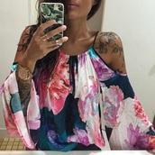 top,floral shirt,floral dress,loose tshirt,dress,summer top