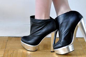 shoes silver keiko lynn