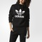 Adidas women's trefoil hoodie - black | adidas canada