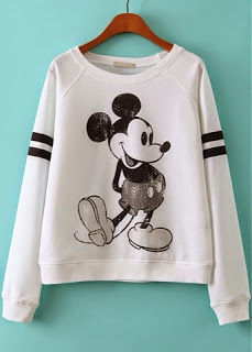 The hunt gems: mickey mouse sweatshirt