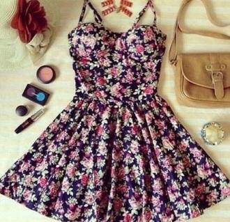 dress flowers cute summer spring
