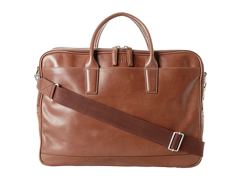 Cole Haan Madison Collection Double Zip Brief Mahogany - Zappos.com Free Shipping BOTH Ways