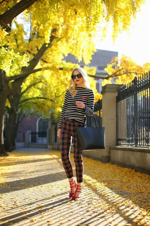 Joe Fresh™ Cropped Plaid Pants - jcpenney