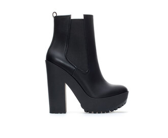 shoes black boots black boots platform shoes platform high heels shoes black grunge flat