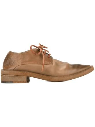 shoes lace-up shoes lace brown