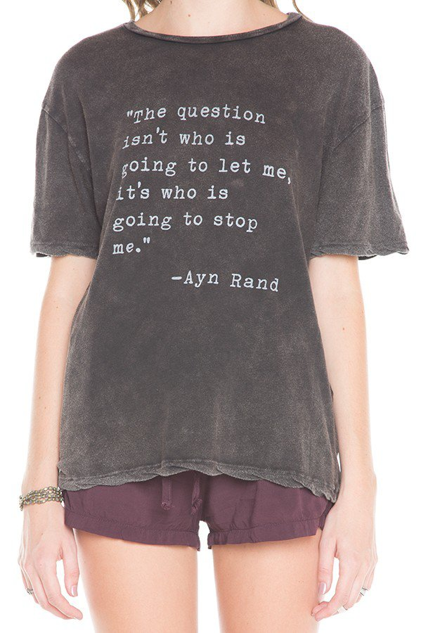 DIANA AYN RAND TOP on Wanelo