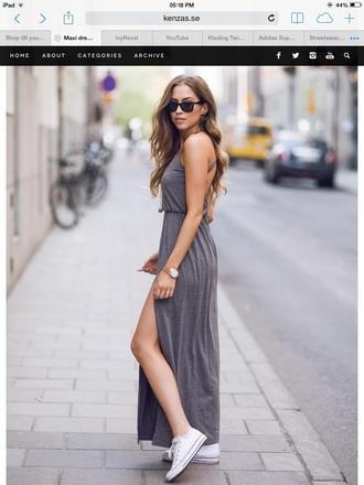 dress gray dresses gray maxi dress i need these so bad