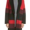 St. john collection double knit felted wool blend coat with genuine shearling collar | nordstrom