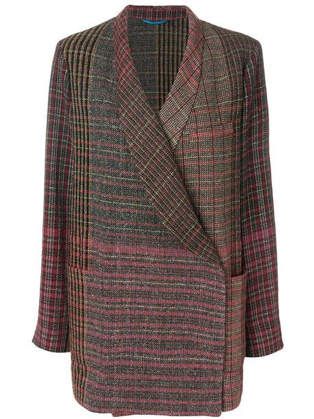 ETRO jacket women silk wool red