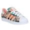 Adidas superstar 2 dust pink farm print w - his trainers