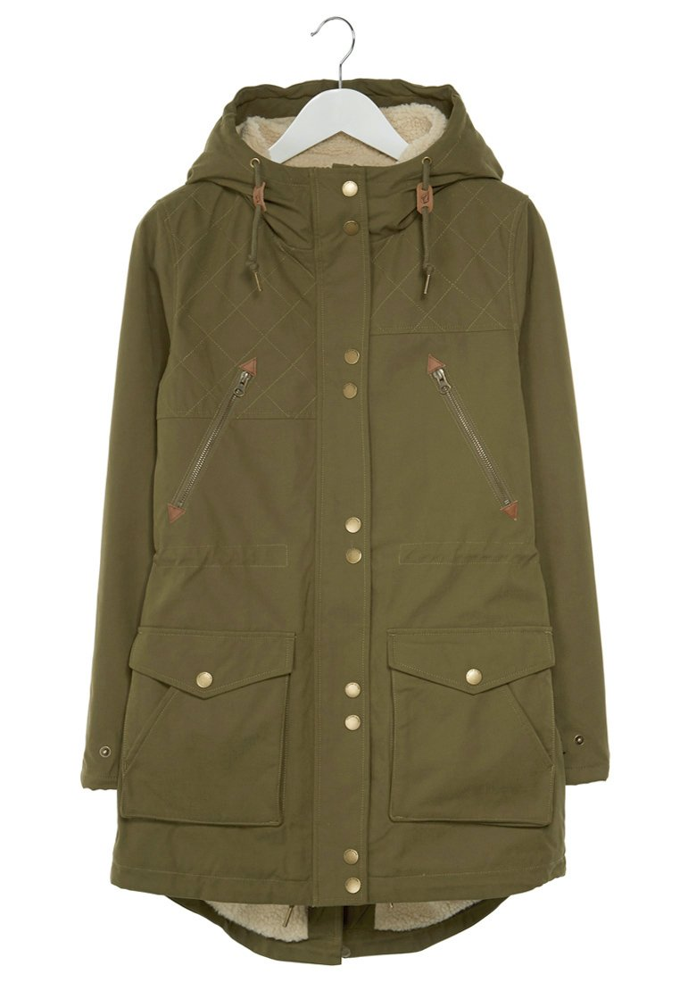 Volcom WALK ON BY - Parka - olive - Zalando.de