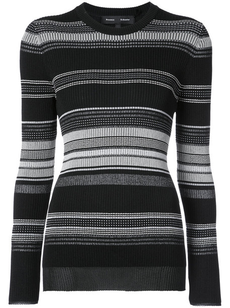 Proenza Schouler sweater women cotton black