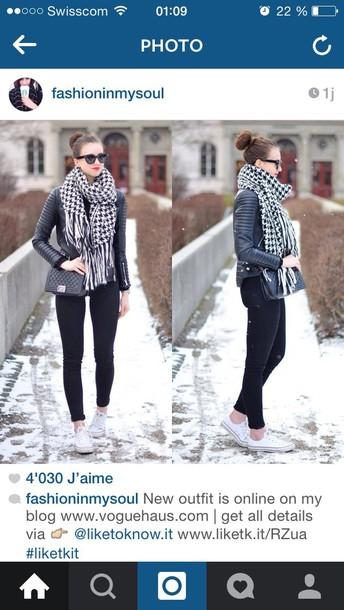 jacket black heather