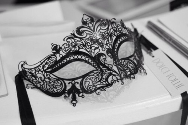 jewels mask black dentelle noir masque lace