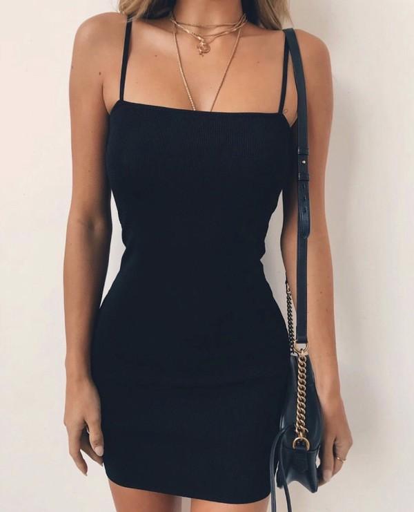 dress black dress cute dress mini dress sexy dress short dress party dress boho dress strappy tight black