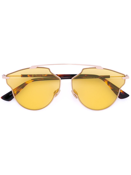 Dior Eyewear so real pop tinted sunglasses - Metallic
