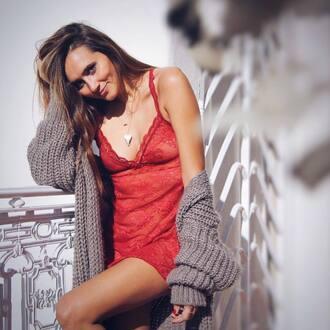 underwear christmas lingerie christmas lingerie nightwear lace lingerie red lingerie